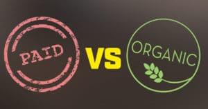 מה ההבדל בין קידום אורגני לקידום ממומן בגוגל?
